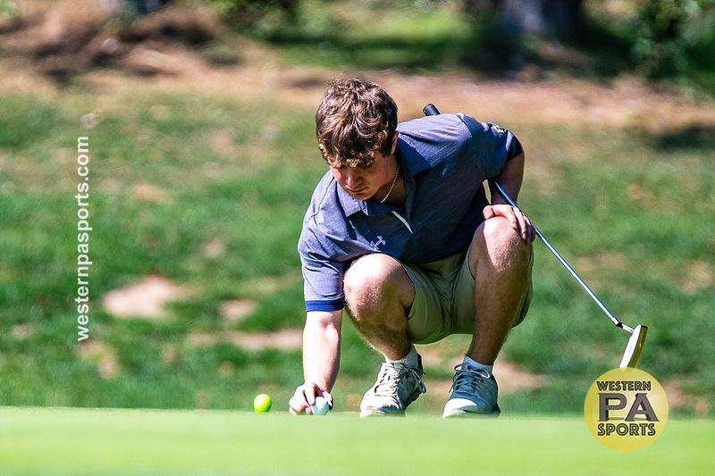 Boys Golf Sectional at FR_20200921-KR1_7125